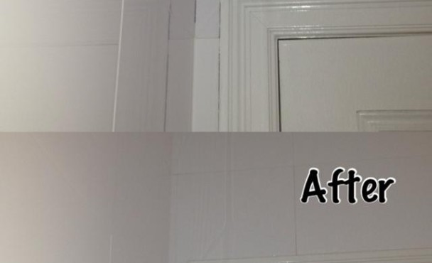 architrave caulking